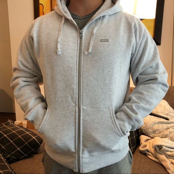 c27630d0 Supreme Shirts | New Hooded Zip Up Ash Grey | Poshmark